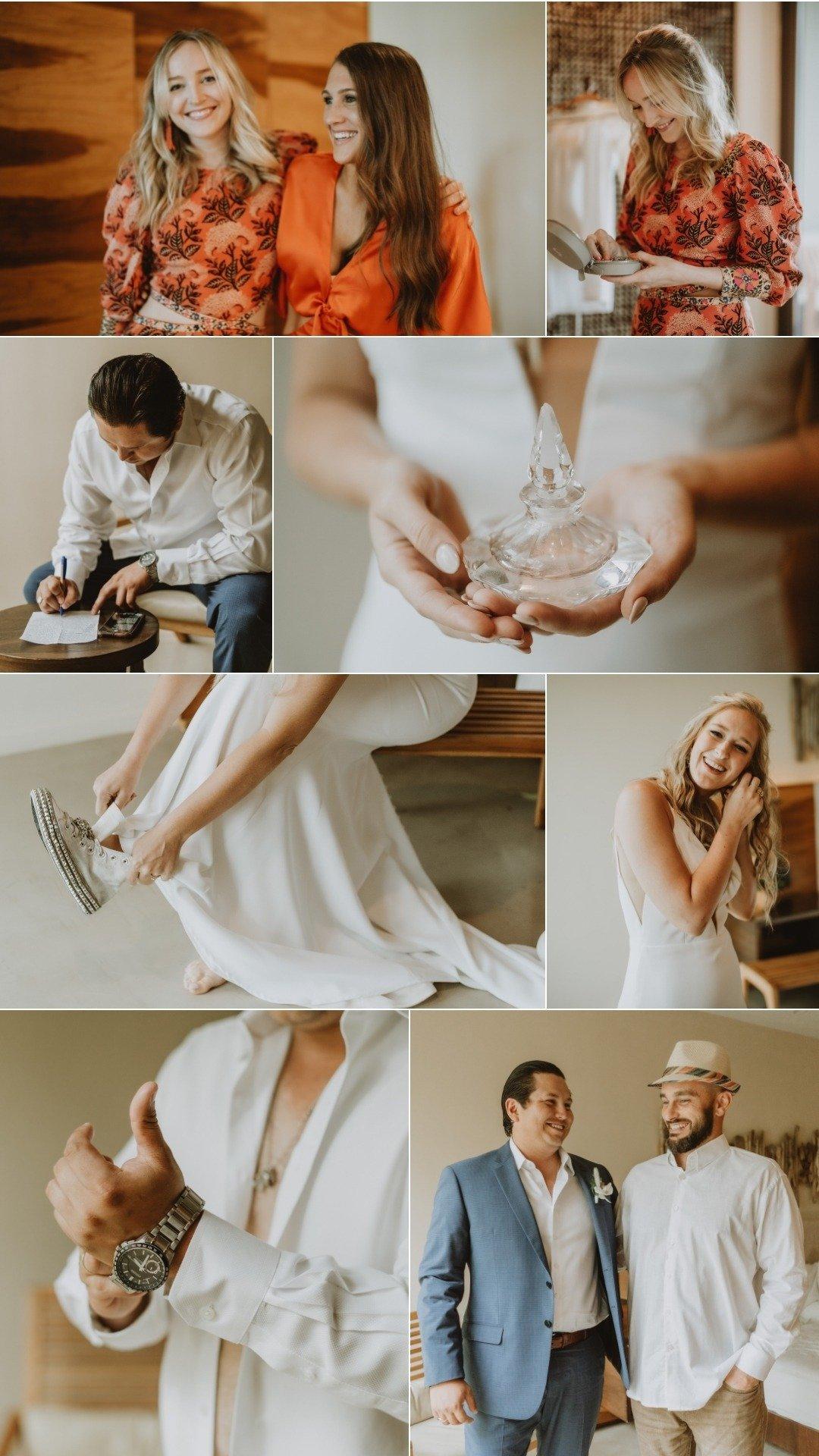 Guanacaste wedding morning