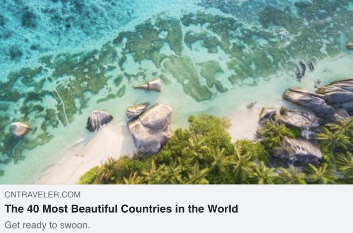 The Most Beautiful Country in the World