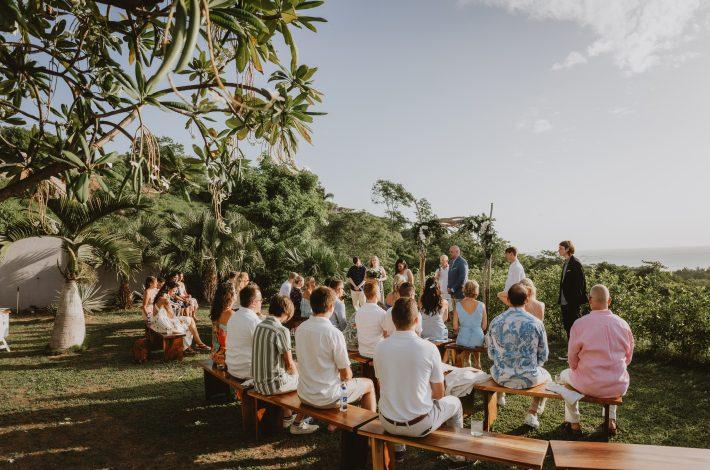 Ocean View Villa Wedding
